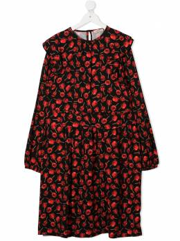 No.21 Kids платье-трапеция с принтом N21BLN0115