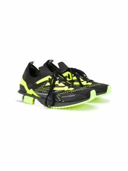 Dolce & Gabbana Kids кроссовки на шнуровке DA0952AW478
