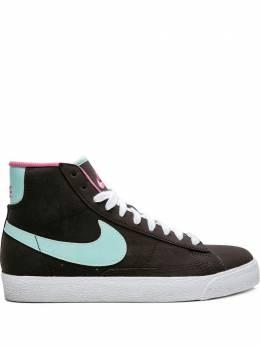 Nike Kids высокие кеды Blazer Mid 325064231