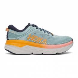 Hoka One One Blue Bondi 7 Sneakers 1110519-BHBI