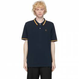 Loewe Navy Anagram Embroidered Polo H526341X99