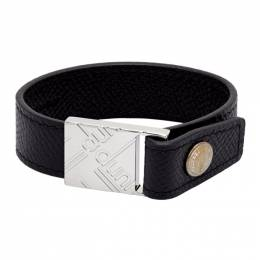 Dunhill Black Canvas Luggage Bracelet DU20RYF6B11