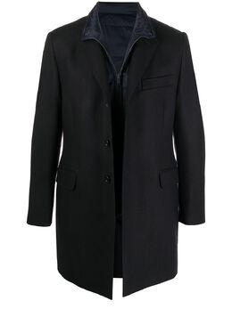 Fay однобортное пальто NAM53411390SDUU807