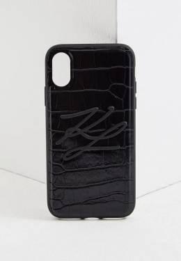 Чехол для iPhone Karl Lagerfeld KL20RKBK