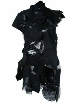 Junya Watanabe Comme Des Garcons Pre-Owned платье дизайна пэтчворк JNO007
