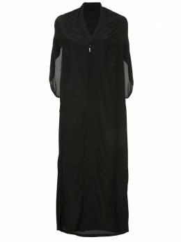Yohji Yamamoto Pre-Owned платье в стиле кимоно без рукавов FBD79410
