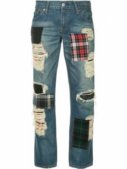 Junya Watanabe Comme Des Garcons Pre-Owned джинсы с потертостями JHP202