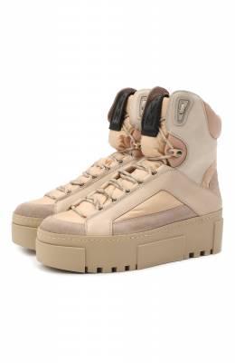 Комбинированные ботинки Vic Matie 1Y5032D.T16TYWTE24