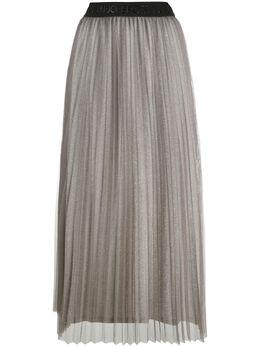 Liu Jo плиссированная юбка миди с завышенной талией TF0175J5789