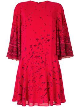 Valentino Pre-Owned расклешенное платье с принтом PS0209859