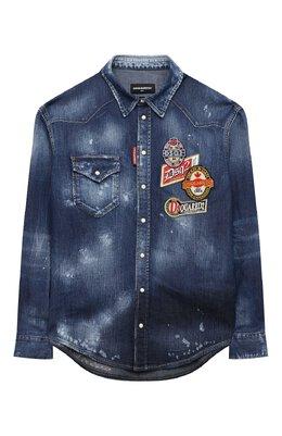 Джинсовая рубашка Dsquared2 DQ047M-D001P