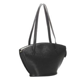 Louis Vuitton Black Leather Saint Jacques PM Bag 333104