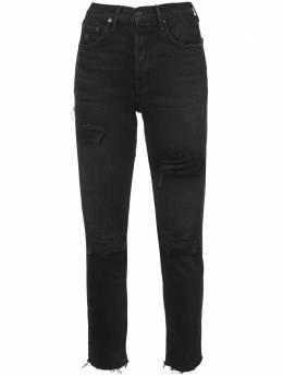 Grlfrnd джинсы с потертой отделкой GF4004174S17