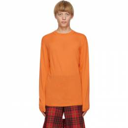 Comme Des Garcons Homme Plus Orange Worsted Yarn Sweater PF-N008-051