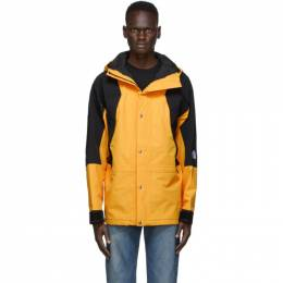 The North Face Yellow and Black 1994 Retro Mountain Light Jacket NF0A4R52