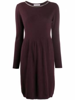 Fabiana Filippi платье-джемпер с декором Monili ABD220W1640000N128