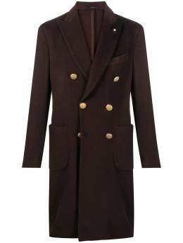 Lardini двубортное пальто IM611AVY29IMR55252