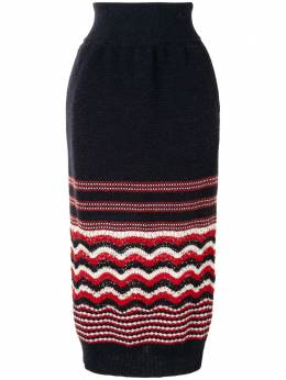 Coohem юбка миди Retro Wave 10204041