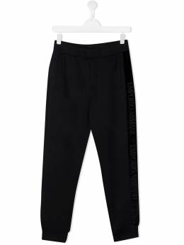 Emporio Armani Kids спортивные брюки с лампасами 6H4P841JDSZ
