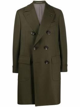 Gabriele Pasini двубортное пальто G16362GP16479