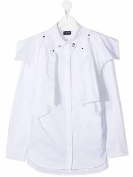 Diesel Kids рубашка со вставками 01J50UKXB25