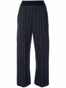 Coohem укороченные брюки в тонкую полоску 10204037