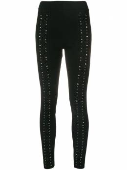Philipp Plein String leggings WRT0464PTE003N