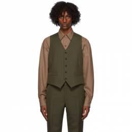 Lemaire Brown Wool Vest M 203 JA144 LF483