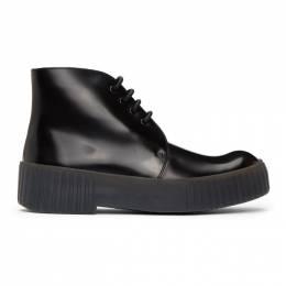 Acne Studios Black Chukka Desert Boots BD0130