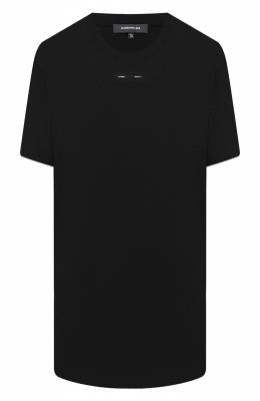 Хлопковая футболка Barbara Bui W1466GMF