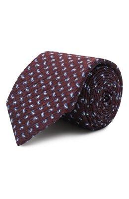 Шелковый галстук Corneliani 86U302-0820317/00