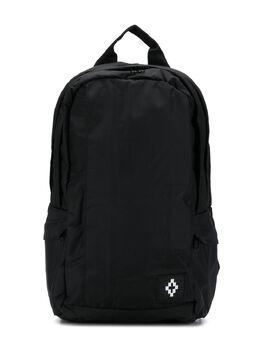 Marcelo Burlon Kids Of Milan рюкзак на молнии с нашивкой-логотипом 95109010