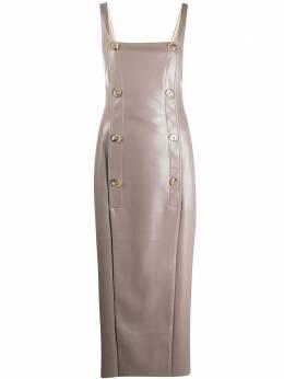 Nanushka платье из искусственной кожи NW20FWDR07194