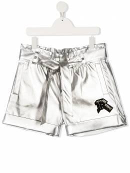 John Richmond Junior шорты с нашивкой-логотипом RGA20171SH