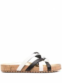 Sophia Webster сандалии с плетеными ремешками SHS20029