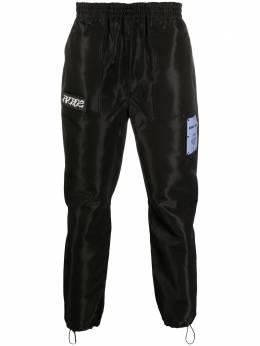 MCQ by Alexander McQueen блестящие спортивные брюки 623408RPQ19