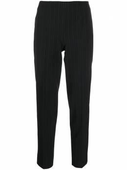 Piazza Sempione укороченные брюки в тонкую полоску PP578M0S3484