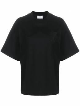 Ami футболка Ami de Coeur с вышивкой H20FJ13379