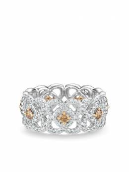 De Beers браслет Enchanted Lotus из белого золота с бриллиантами J1FK19Z00Q