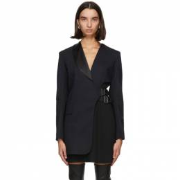 Sportmax Navy Wool Zufolo Blazer Dress 22261006000 10514