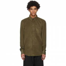 Naked And Famous Denim Khaki Corduroy Easy Shirt 120153011