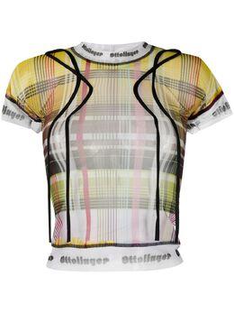 Ottolinger футболка с ремешками AW20TO03P