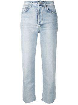 Re/Done укороченные джинсы с необработанными краями 1903WSTV27
