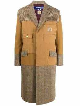 Junya Watanabe пальто со вставками из коллаборации с Carhartt WFC001W20