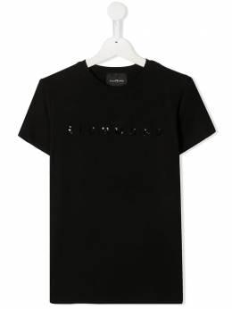 John Richmond Junior футболка с пайетками и логотипом RGA20001TST5