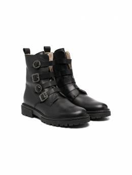 Florens ботинки с декорированными пряжками K2345