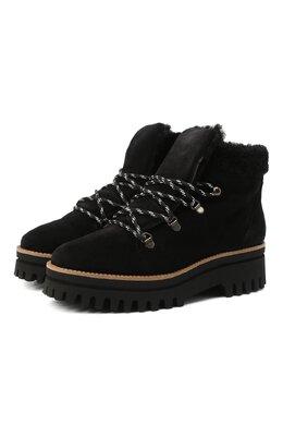 Замшевые ботинки Paloma Barcelo 058/1 DIEG0 SERRAJE/M0UT0N