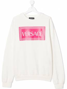 Young Versace толстовка с логотипом YD000192YA00078