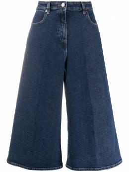 Pt05 укороченные брюки широкого кроя C1VJNSZ90DENDN01ME21