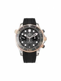 Omega наручные часы pre-owned Seamaster Diver 300m Chronograph 44 мм 2020-го года 21022445101001